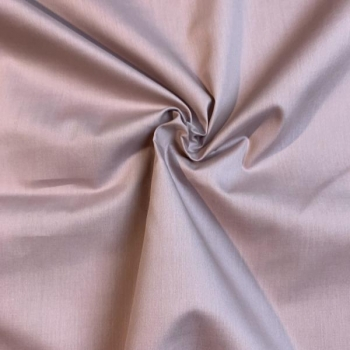 Cotton poplin dusty pink