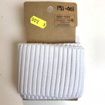 Rib pack knitted optical white