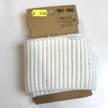 Rib pack knitted white