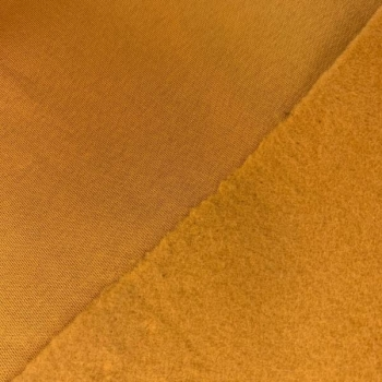 Thicker brushed cotton jogging ocre