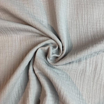 Cotton muslin light grey