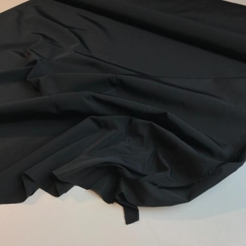 Water repellent fabric black