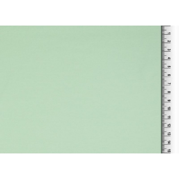 Cotton jersey light mint