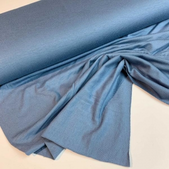 Viscous jersey dusty blue