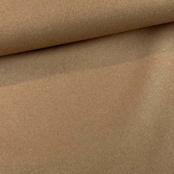 Wool fabric camel