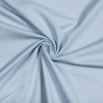 Cotton jersey baby blue