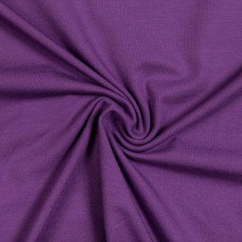 Cotton jersey purple