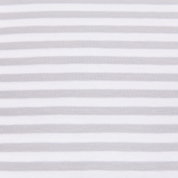 Cotton jersey printed tiny lines grey