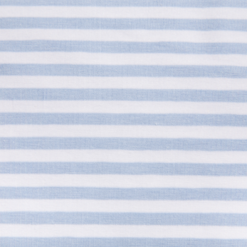 Cotton jersey printed tiny lines blue