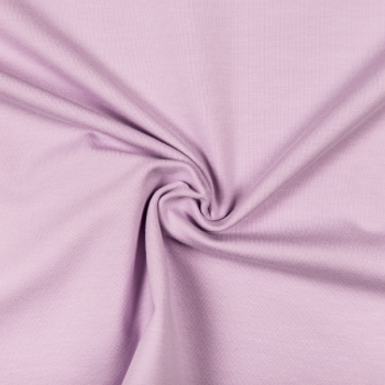 Cotton jersey pastel lilac
