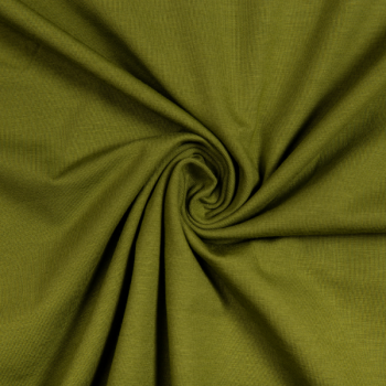 Cotton jersey fern green
