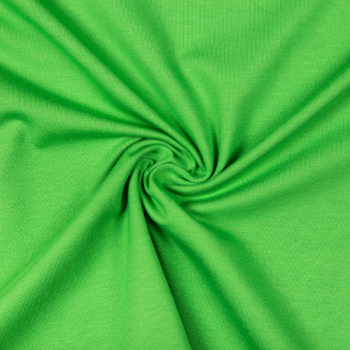 Cotton jersey apple green