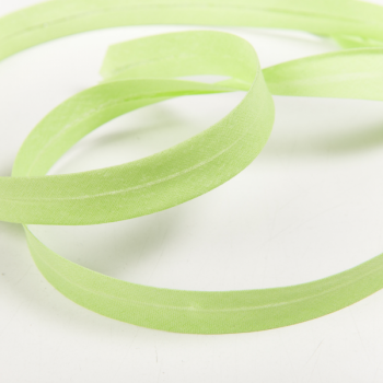 100% cotton biasband light green