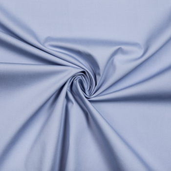 Cotton poplin dusty blue