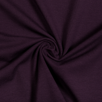 Cotton jersey plum
