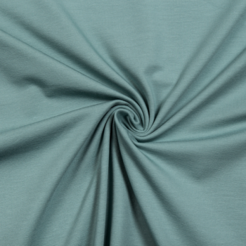 Cotton jersey dusty mint