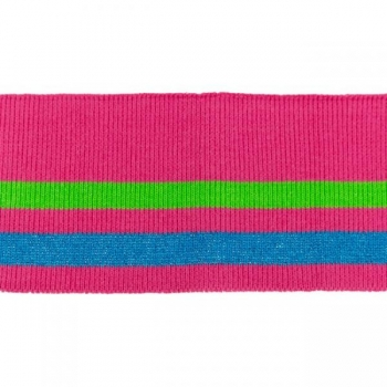 Rib pack stripes pink