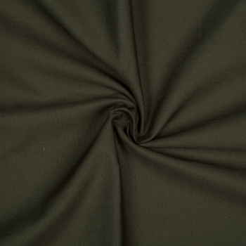 Cotton poplin khaki
