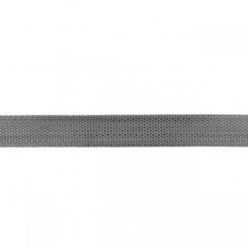 Webbing 25 mm polypropylene grey