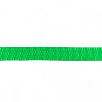 Webbing 25 mm polypropylene grass green