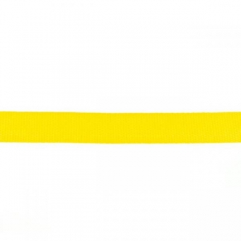 Webbing 25 mm polypropylene yellow