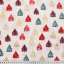 Cotton poplin printed colorful firs
