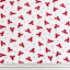 Cotton jersey printed red lobsters multicolored