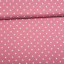 Cotton jersey printed medium stars pink